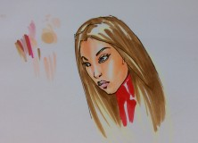 Copic Marker Drawing